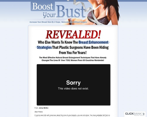 Boost Your Bust – How To Make Your Breasts Grow Naturally
