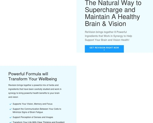 ReVision – A New Way to Supercharge Your Vision!