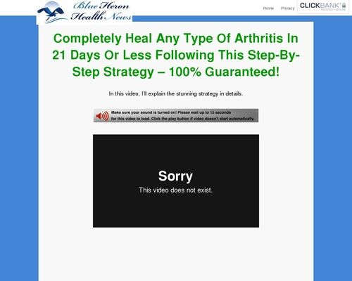 Cure Arthritis Naturally – Blue Heron Health News